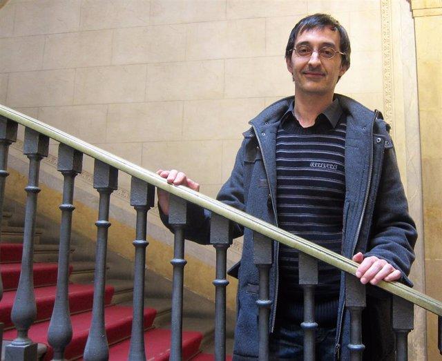 "Francesc J.Gómez, XVII Premi de Poesia Gabriel Ferrater con ""alta literatura y p"