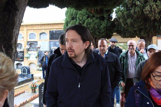 Pablo Iglesias anuncia que en caso de llegar al Gobierno indultará al hombre det