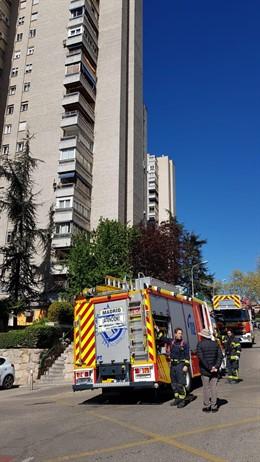 Continúan graves los dos heridos en el incendio de Ciudad de los Periodistas (Ma