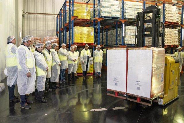 El Consejo Rector de ACOR visita la planta de Olmedo (Valladolid) y celebra su r