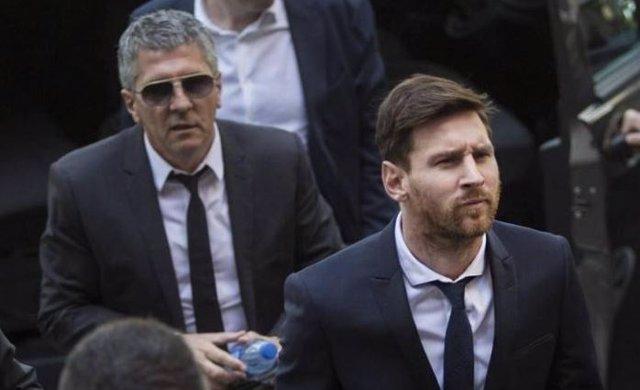 El padre de Messi, detenido por atropellar a un motorista en Santa Fe, Argentina
