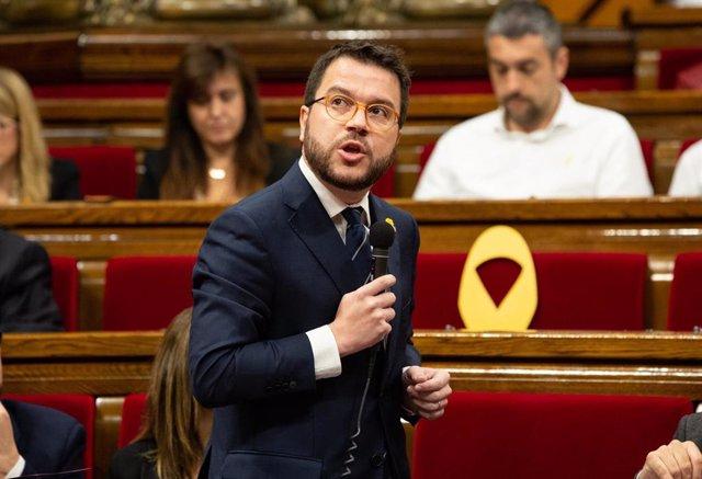 28A.- El Govern no dialogar amb Sánchez si l'independentisme no pot fer les sev