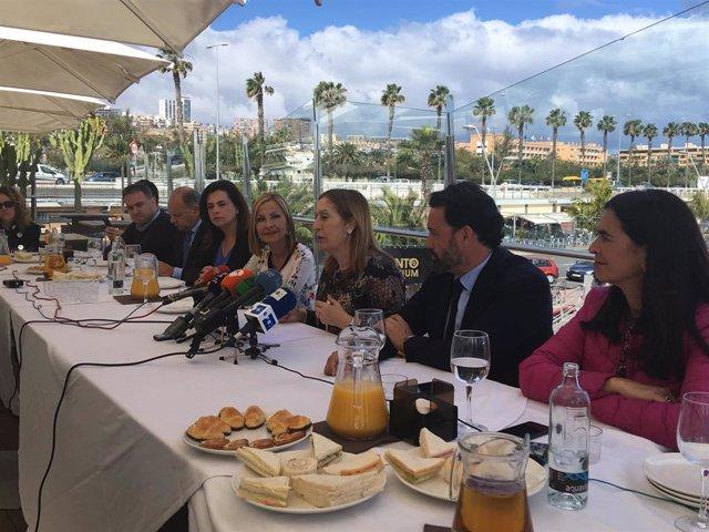 28A.- Pastor afirma que EH Bildu ya se ha cobrado el apoyo que dio a Sánchez tra