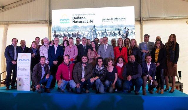 Huelva.- Turismo.- Diputación destaca que la Feria Doñana Natural Life sitúe El