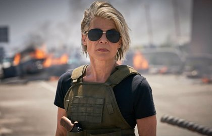 Así es tráiler Terminator 6: Destino Oscuro: Sarah Connor arrasa en la CinemaCon