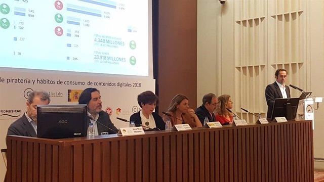El consumo legal de contenidos se reactiva en España, pero la piratería 'quita'