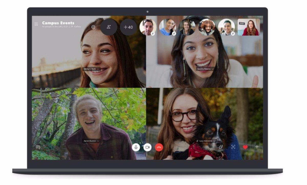 Skype ya permite incorporar hasta 50 participantes en una ...