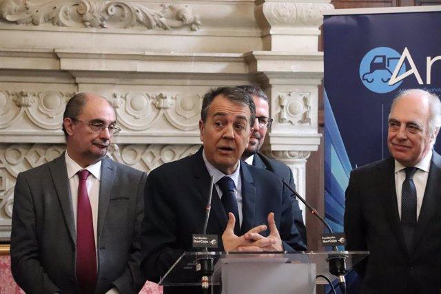 Zaragoza.- La planta del Groupe PSA en Figueruelas será la primera de España en