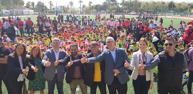 Unos 150.000 escolares celebran el Dia de l'Esport en la Comunitat Valenciana
