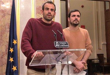 """28A.- Bustamante (IU) llama a participar en la manifestación en Madrid por """"los derechos y libertades"""""""