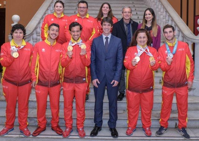 Sevilla.- Siete sevillanos consiguen seis medallas en los Juegos Mundiales de Ve