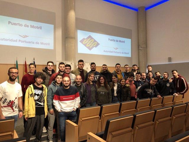 Granada.- Puertos.- Estudiantes de la Universidad de Jaén conocen las claves de