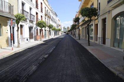 Concluyen los trabajos de asfaltado de varias calles de Los Palacios