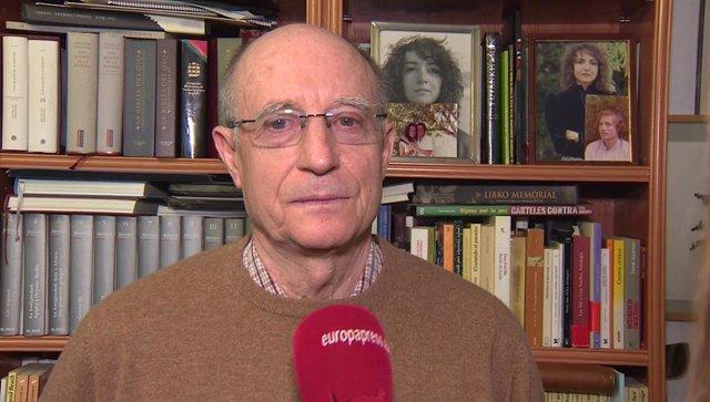 El hombre que ayudó a morir a su mujer, Ángel Hernandez, en declaraciones para E