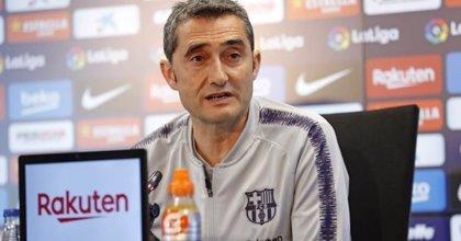 """Valverde: """"Nadie dice que LaLiga esté sentenciada, no hay espacio para especulaciones"""""""