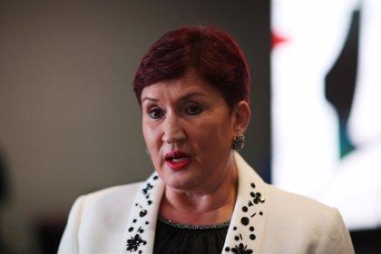 La exfiscal general de Guatemala Thelma Aldana presenta un amparo para avalar su candidatura presidencial