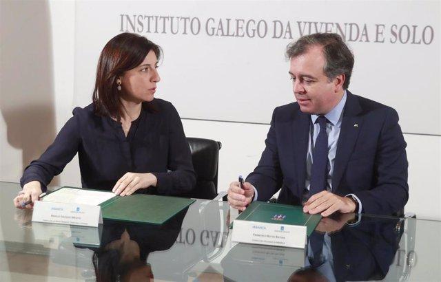 La Xunta y Abanca renuevan el convenio para ceder viviendas de alquiler social a
