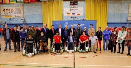 Revilla asiste a demostración de fútbol en silla de ruedas y desea que sea deporte paralímpico