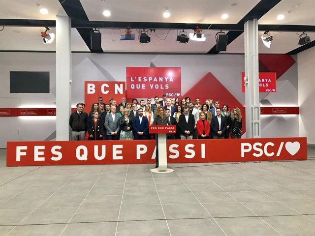 """Batet assegura que el PSOE evitarà el """"perill d'involució"""" d'un govern de"""