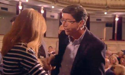 """Juan Marín (Cs) pide """"dar la vuelta a las encuestas"""" para no """"dejar el país en manos de quien quiere romper España"""""""