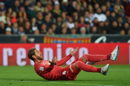 Sergio Ramos, baja en el Real Madrid para recibir al Eibar