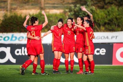 La selección femenina remonta con brío a Brasil
