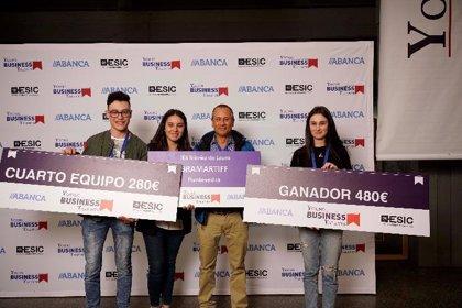 Estudiantes de Pontevedra consiguen el cuarto puesto en la final del programa de emprendimiento Young Business Talents