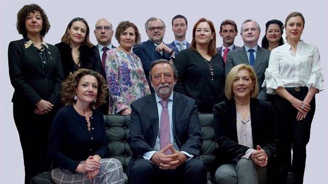 Luis Albo Aguirre, nuevo decano del Colegio de Abogados de Oviedo
