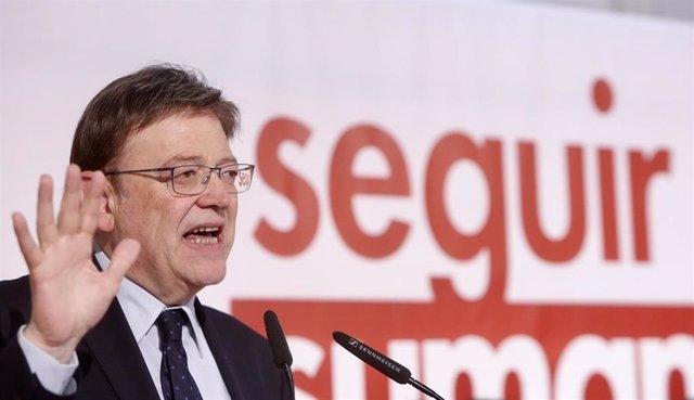 """Puig promete que en la próxima legislatura """"todos los niños de dos a tres años t"""