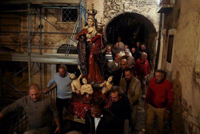 Italia.- Italia recuerda a las víctimas de L'Aquila en el décimo aniversario del