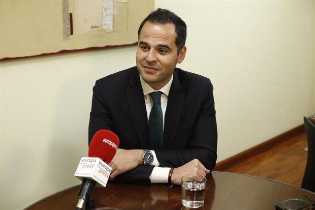Retratos candidato de Ciudadanos a la Comunidad de Madrid, Ignacio Aguado