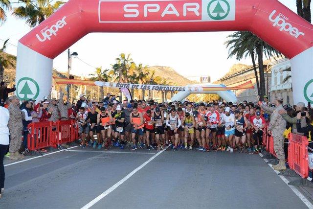 La Ruta de las Fortalezas supera todas sus previsiones con 3.800 participantes