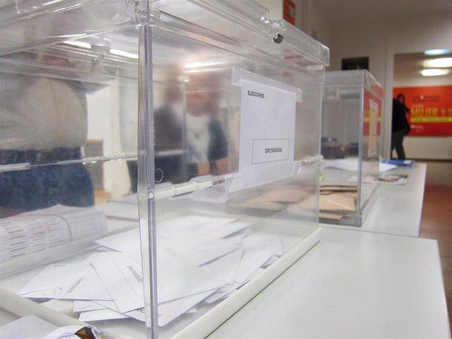 26M.- Un total de 1.723.052 electores podrán votar en las elecciones del 26 de m