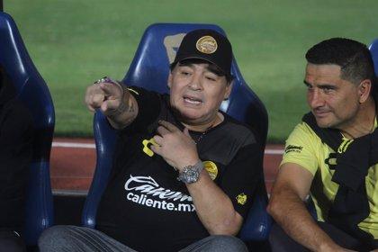 Maradona afirma que está pensando dejar Dorados de Sinaloa al finalizar el Clausura
