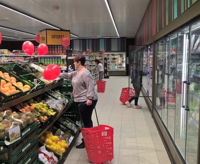 Eroski inaugura un nou supermercat franquiciat a Sogorb amb set llocs de treball
