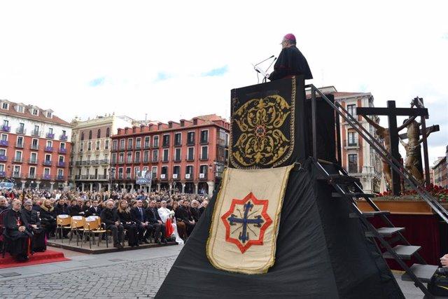 Valladolid (30-03-2018).- Sermón de las Siete Palabras