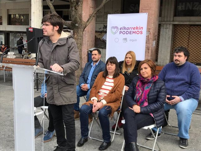 """28A.- Elkarrekin Podemos Cuestiona Que El PNV """"Condicione La Aprobación De Mejor"""