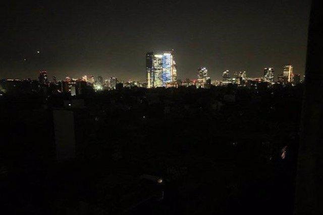 Los fuertes vientos dejan sin luz a Ciudad de México