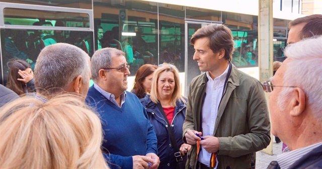 """Málaga.- 28A.- Montesinos destaca el compromiso del PP para que las playas """"luzc"""