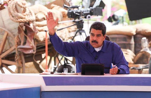 """Maduro afirma que el sistema eléctrico de Venezuela fue atacado desde """"Chile y C"""
