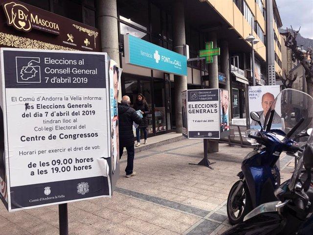 Andorra vota entre mantenir l'hegemonia de Demòcrates o canviar el rumb del Go