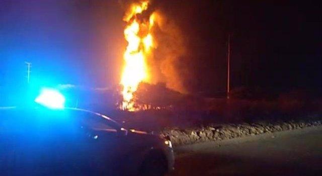 Explota un ducto de Pemex provocando un fuerte incendio en el estado mexicano de