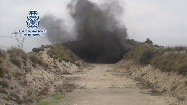 TEDAX-NRBQ de la Policía Nacional ha desactivado más de 6.000 artefactos de la G