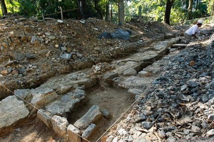 Hallan un tesoro arqueológico de más de 30.000 piezas bajo el zoológico de Río de Janeiro, en Brasil