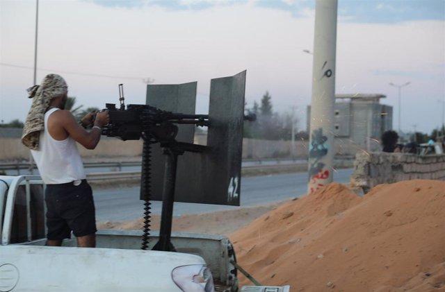 """Libia.- EEUU traslada parte de su contingente en Libia dada la """"impredecible"""" si"""