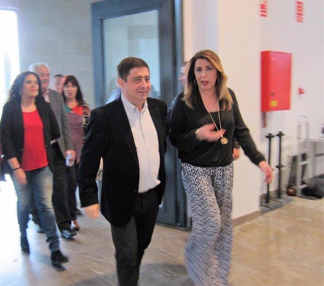 """Díaz asegura que los ayuntamientos serán """"dique de contención para garantizar la"""