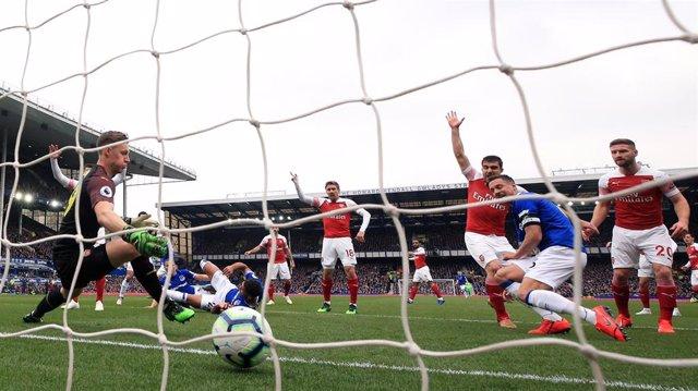 England Premier League - Everton vs Arsenal