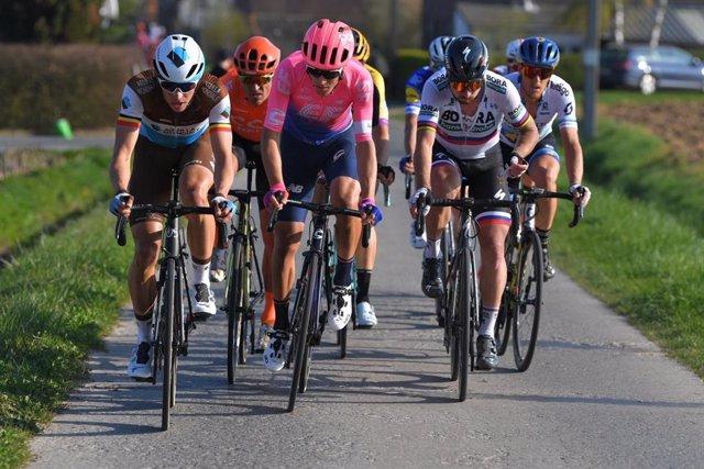 El ciclista italiano Alberto Bettiol (Education First).