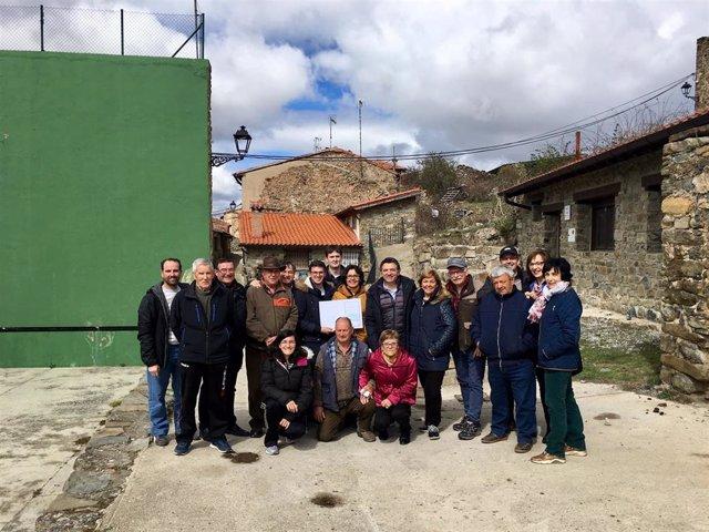Ejecutivo regional colabora con Ajamil de Cameros en la mejora de los accesos a