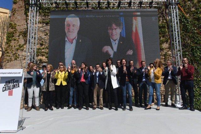 """28A.- Puigdemont Diu Que """"No Es Pot Garantir El Progrés Des de la Política"""